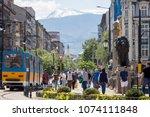 sofia  bulgaria   april 21 ... | Shutterstock . vector #1074111848
