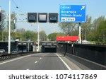 netherlands holland north... | Shutterstock . vector #1074117869