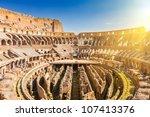 coliseum in rome   Shutterstock . vector #107413376