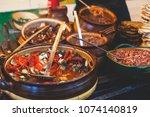 variety assortment of different ...   Shutterstock . vector #1074140819