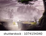 Fantasy Landscape Castle From...