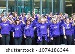 london  uk   april 23  2017 ...   Shutterstock . vector #1074186344