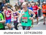 london  uk   april 23  2017 ...   Shutterstock . vector #1074186350