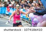 london  uk   april 23  2017 ... | Shutterstock . vector #1074186410