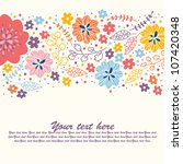 Stylish Cute Colorful Floral...