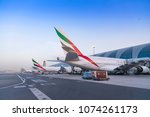 dubai  united arab emirates  ... | Shutterstock . vector #1074261173