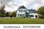 prince edward island  canada  ...   Shutterstock . vector #1074285200