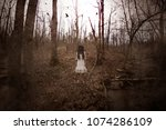 forest of the darkness 3d... | Shutterstock . vector #1074286109