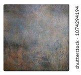old metal texture plate...   Shutterstock . vector #1074294194