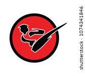 martial art logo | Shutterstock .eps vector #1074341846