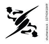 martial art logo | Shutterstock .eps vector #1074341849