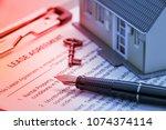 business legal document concept ... | Shutterstock . vector #1074374114