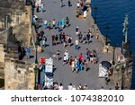 praha  czech republic   july 10 ... | Shutterstock . vector #1074382010