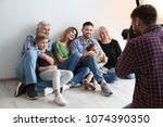 professional photographer... | Shutterstock . vector #1074390350