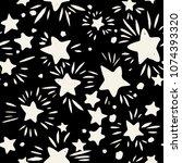 star seamless pattern.textile... | Shutterstock . vector #1074393320