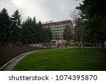 essentuki  stavropol   russia   ... | Shutterstock . vector #1074395870