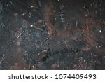 Old Metal Background Or Textur...