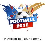 football background place for... | Shutterstock .eps vector #1074418940