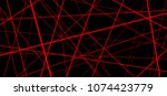 abstract banner with an... | Shutterstock .eps vector #1074423779