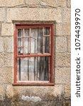 Old Wooden Windows. Background...