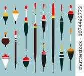 fishing float. vector...   Shutterstock .eps vector #1074462773