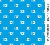 flag canada pattern vector... | Shutterstock .eps vector #1074478586