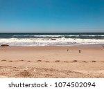 perfect ocean beach   Shutterstock . vector #1074502094