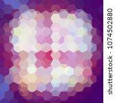 abstract hexagons vector... | Shutterstock .eps vector #1074502880