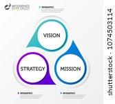 infographic design template.... | Shutterstock .eps vector #1074503114
