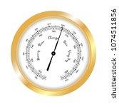 Barometer Icon  Vector Isolate...