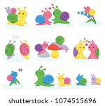 Snail Vector Snail Shaped...
