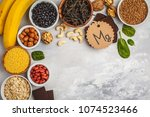 healthy food nutrition dieting... | Shutterstock . vector #1074523466
