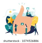 vector illustration on white... | Shutterstock .eps vector #1074526886