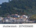 thassos  greece   april 5  2016 ...   Shutterstock . vector #1074530600