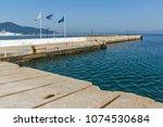 thassos  greece   april 5  2016 ...   Shutterstock . vector #1074530684