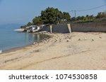 thassos  greece   april 5  2016 ...   Shutterstock . vector #1074530858