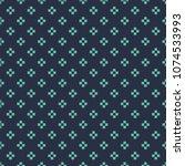 seamless neon blue simple basic ... | Shutterstock .eps vector #1074533993