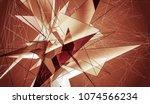 abstract background orange...   Shutterstock . vector #1074566234