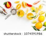 bartender workplace for make... | Shutterstock . vector #1074591986