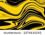 yellow and black creative... | Shutterstock . vector #1074614243