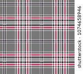 diagonal plaid pattern squares... | Shutterstock .eps vector #1074658946