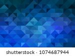 light blue vector abstract... | Shutterstock .eps vector #1074687944