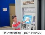 kuala lumpur  malaysia  ... | Shutterstock . vector #1074695420