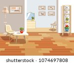 a vivid background with an...   Shutterstock .eps vector #1074697808