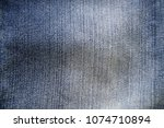 jeans fabric texture background | Shutterstock . vector #1074710894