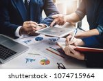 business finance  accounting ... | Shutterstock . vector #1074715964