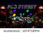 siem reap  cambodia   26 march... | Shutterstock . vector #1074718994
