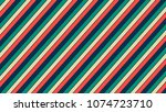 retro background with oblique... | Shutterstock .eps vector #1074723710