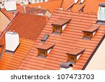 Tile Roofs Of The Old City....