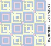 geometric seamless pattern.... | Shutterstock .eps vector #1074765068